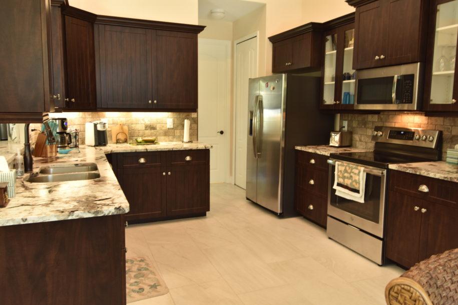 gorgeous designer kitchen